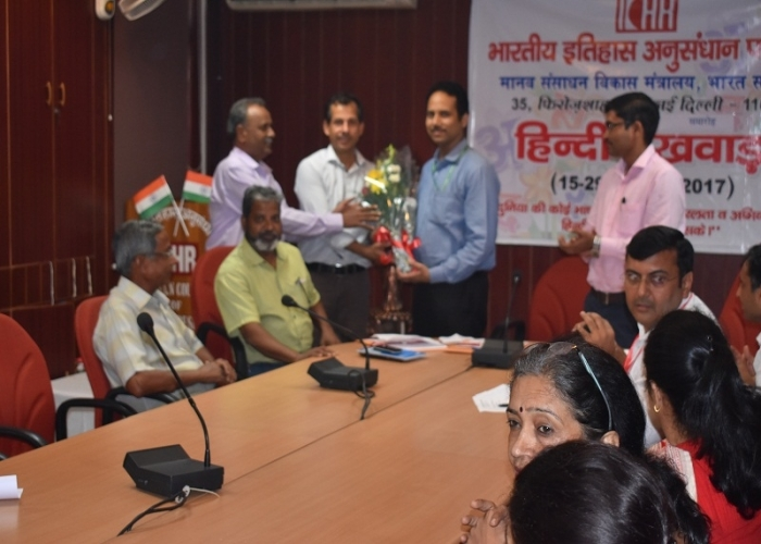 Hindi Pakhwada held in ICHR from 15th to 29th September, 2017